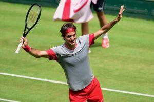Federer vince ad Halle per la settima volta