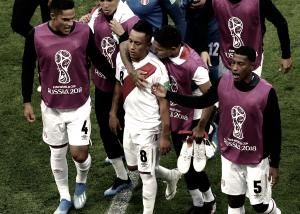 """Christian Cueva:""""Triste porque tuvimos las oportunidades para ponernos 1-0"""""""