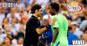 Federer - Monfils: renacer de las cenizas