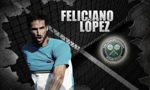 Wimbledon 2015: Feliciano López, verde que te quiero verde