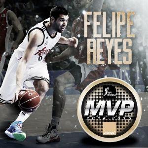 Felipe Reyes, MVP Orange de la Liga Endesa 2014-15