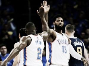 Inspirado, Paul George comanda vitória do Thunder sobre Jazz na primeira rodada dos playoffs