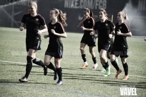 El FC Barcelona Femenino, preparado para las semifinales de Copa