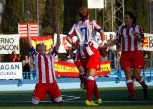 Laura Ortega salva al Atlético de Madrid en el descuento