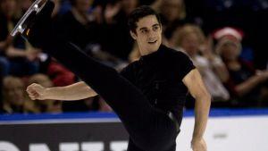Javier Fernández, medalla de plata en el Skate Canada