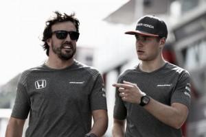 """Alonso, contento con la clasificación: """"La sensación es muy buena. Entre el 8 y el 12 creo que tenemos que estar en condiciones normales"""""""