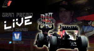 Resultado Carrera del GP de Abu Dhabi de Fórmula 1 2013