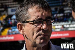 Fernando Vázquez, orgulloso de la cantera blanquiazul