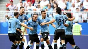 Uruguay - Rusia, puntuaciones de Uruguay jornada 3 Mundial Rusia 2018