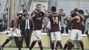 Roma, il pass per Barcellona si strappa a Bologna