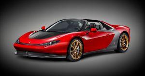 Ferrari Sergio, nacido de los lápices de Pininfarina en honor al maestro