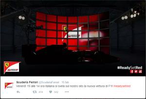 Ferrari presentará su nuevo monoplaza el 19 de febrero