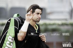 """David Ferrer: """"No he hecho daño con mi saque, Andy ha jugado mejor"""""""