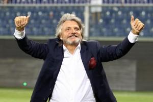 """Sampdoria, il tweet di Ferrero: """"E' arrivata una stella Vincenzo Montella"""""""