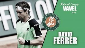 Roland Garros 2016. David Ferrer: remontar el vuelo en París