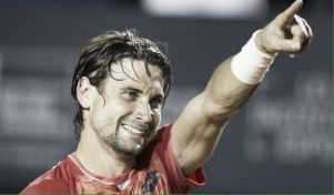 Sijsling hace sudar a David Ferrer en su debut