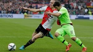 Eredivisie: l'Ajax stoppa il Feyenoord, recupera due punti il PSV