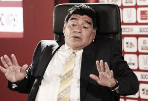 """Maradona: """"Blatter dittatore, Fifa parco giochi corrotto"""""""