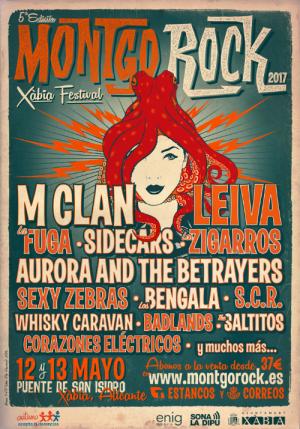 Nuevas confirmaciones del Montgorock Xàbia Festival: Sexy Zebras, Whisky Caravan, SCR y Corazones Eléctricos