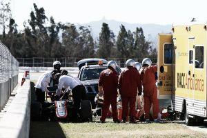 Fernando Alonso, trasladado en helicóptero al Hospital General de Cataluña