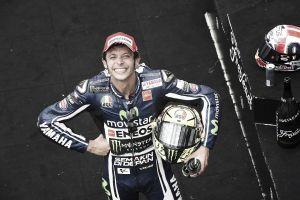 """Valentino Rossi: """"Estoy contento por el resultado"""""""