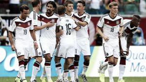 Victoria de Alemania en el partido número 100 en la historia del Mundial