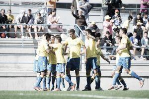 UD Las Palmas Atlético- SD Amorebieta: Choque de estilos siguiendo el tren de cabeza