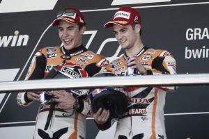 MotoGP, Valencia: le parole di Marc Márquez e Dani Pedrosa in conferenza stampa