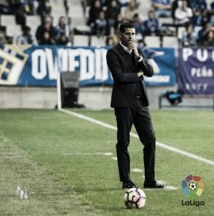 """Fernando Hierro: """"He visto un Oviedo más maduro"""""""
