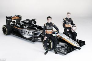 Force India Unveil 'Aggressive' Livery