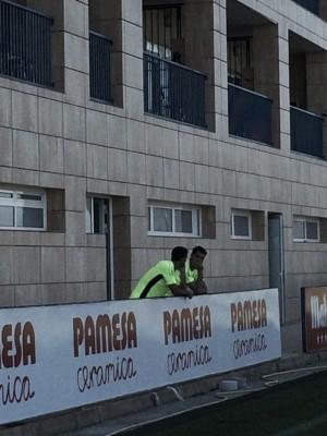 Andrés Fernández y José Ángel ya conocen a sus compañeros