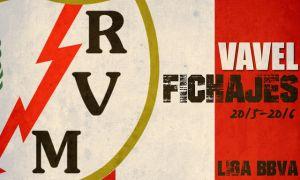 Fichajes del Rayo Vallecano en vivo y en directo online, temporada 2015/2016
