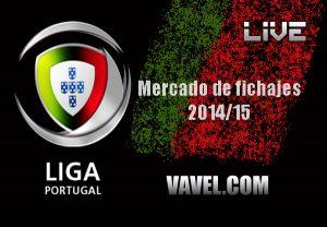 Resumen mercado de fichajes Primeira Liga 2014/2015
