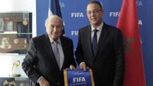 بلاتر يدعم المغرب لإستضافة المونديال