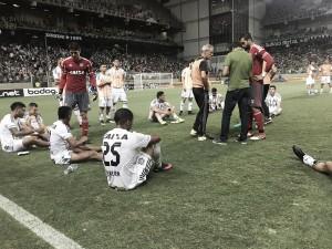 """Apesar da eliminação nos pênaltis, Milton Cruz enaltece atuação do Figueira: """"Fizemos um baita jogo"""""""