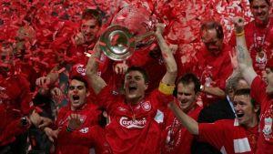 Liverpool y Milan jugarán un amistoso rememorando la final del 2005