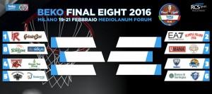 Final Eight di Coppa Italia, Reggio Emilia e Milano davanti a tutte, ma occhio alle mine vaganti