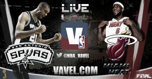 Final NBA 2014: San Antonio Spurs vs Miami Heat en vivo y en directo online