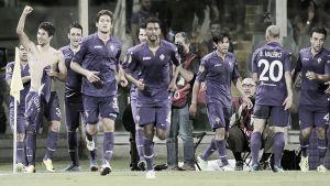 Paseo de la Fiorentina en su debut europeo
