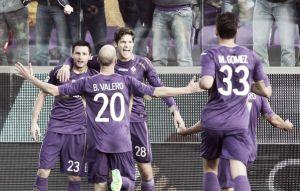 Batería de goles en Florencia