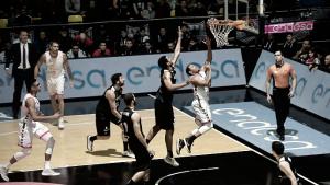 San Pablo Burgos pone en serios problemas a RETAbet Bilbao Basket