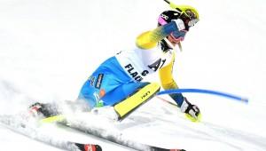 Sci Alpino, Flachau - Slalom Speciale Donne 2° manche: il ritorno di Frida Hansdotter