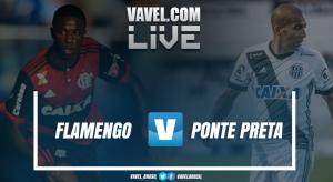 Resultado Flamengo x Ponte Preta no Campeonato Brasileiro (2-0)