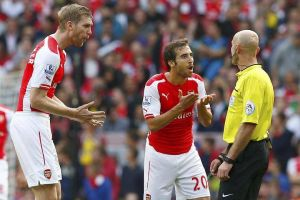 """Was it a """"foul"""" on Flamini, could he have done better?"""