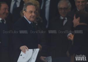 """Florentino: """"Nuestro objetivo es ganarlo todo, porque es la obligación del Real Madrid"""""""