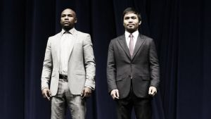 Mayweather and Pacquiaostruggle to agree on doping penalty fee ahead of May 2 clash