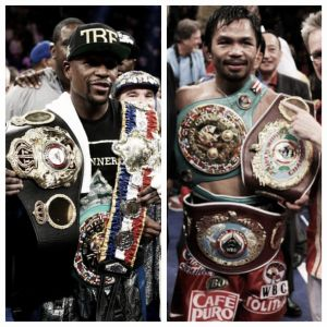 Mayweather - Pacquiao : Five Common Opponents