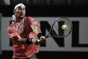 ATP Roma: Fognini ritrova Dimitrov, fuori Bolelli, Lorenzi e Fabbiano