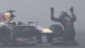 """Sebastian Vettel: """"Estoy superado, no sé qué decir"""""""