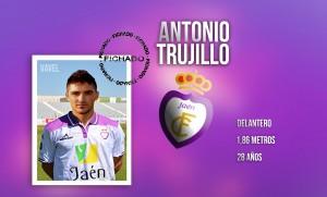 El Real Jaén refuerza la delantera con Antonio Trujillo